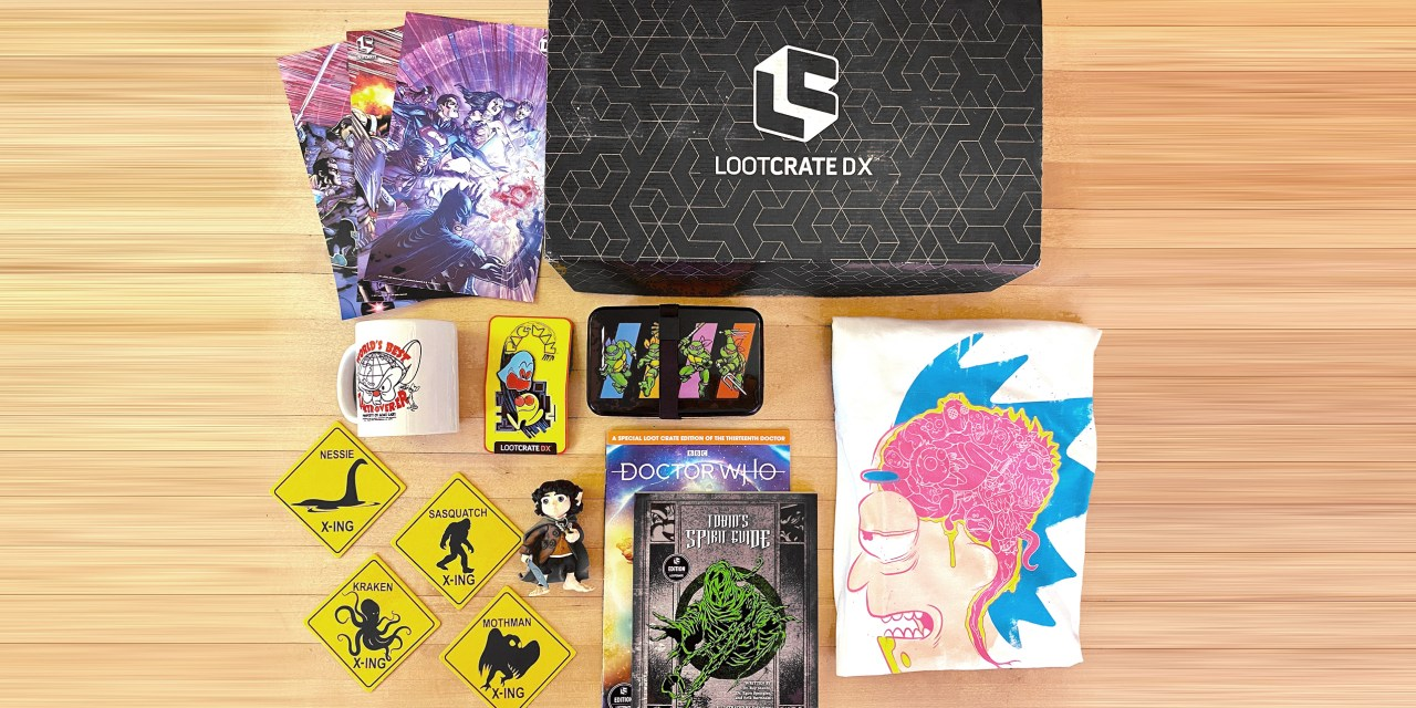 REVIEW: Loot Crate DX brings nerdy goodness home for the holidays