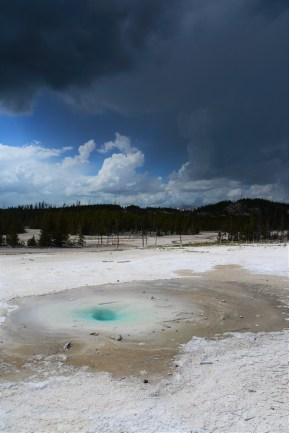 Park Yellowstone, Wyoming