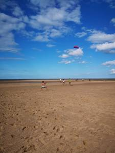 Kite Flying in Wells