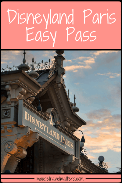 Disneyland Paris Easy Pass. Never bring your wallet into the Parks again. #disneylandparis
