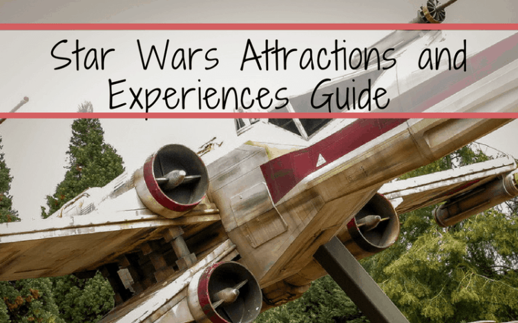 Star Wars Disney World is filled with so many rides, attractions, characters, and fun for any Star Wars fan. We share our ultimate guide to Star Wars fun at Disney World! May the 4th be with you! Happy Star Wars Day! #vacationsideas #starwars #waltdisneyworld #disney #disneyworld #maytheforcebewithyou #maythe4thbewithyou Star Wars Attractions
