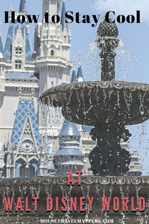 How to Stay Cool at Walt Disney World. Summertime at Walt Disney World is HOT! What can you do to beat the heat and stay cool while on vacation? | Disney Trip Planning Tips #beatheheat #summergames #getoutside #staycool #kidsummer #disneyworld #waltdisneyworld #disney