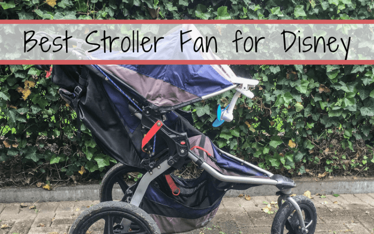 Best Stroller Fan for Disney. When the sun beats down or while using a sun shade, it is important to have good air flow for the little ones. #stroller #disney #disneywithkids #travelwithkids #babies #beattheheat #floridasun #waltdisneyworld #disneyworld