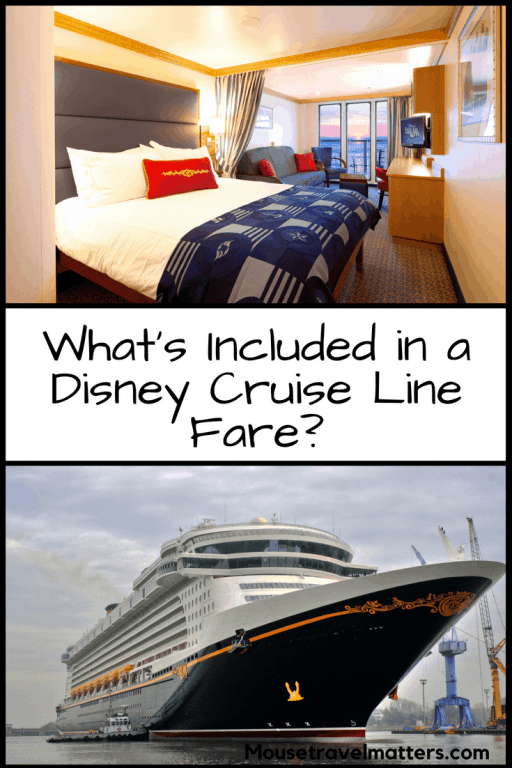 Find out what's included -- and what's not -- in your Disney Cruise Line fare   Disney Cruise Line Tips and Tricks  
