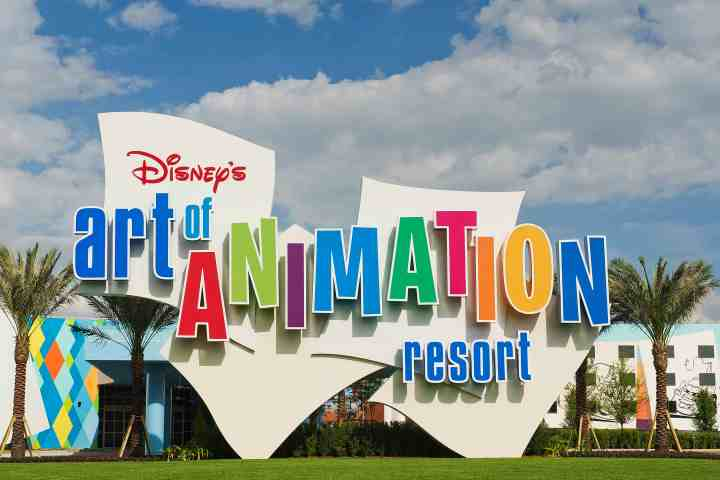 Disney's Art of Animation Resort Entrance