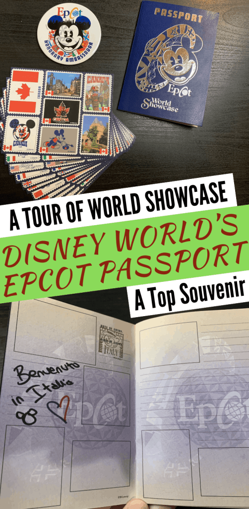 The Epcot passport pack includes a World Showcase button, the passport itself, and stamps/stickers. It is an incredible way to get the kids involved in the most unlikely of adventures.
