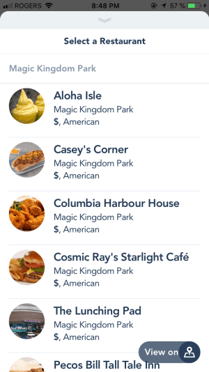 How to use Mobile Ordering at Walt Disney World