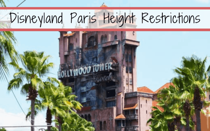 Disneyland Paris Height Restrictions