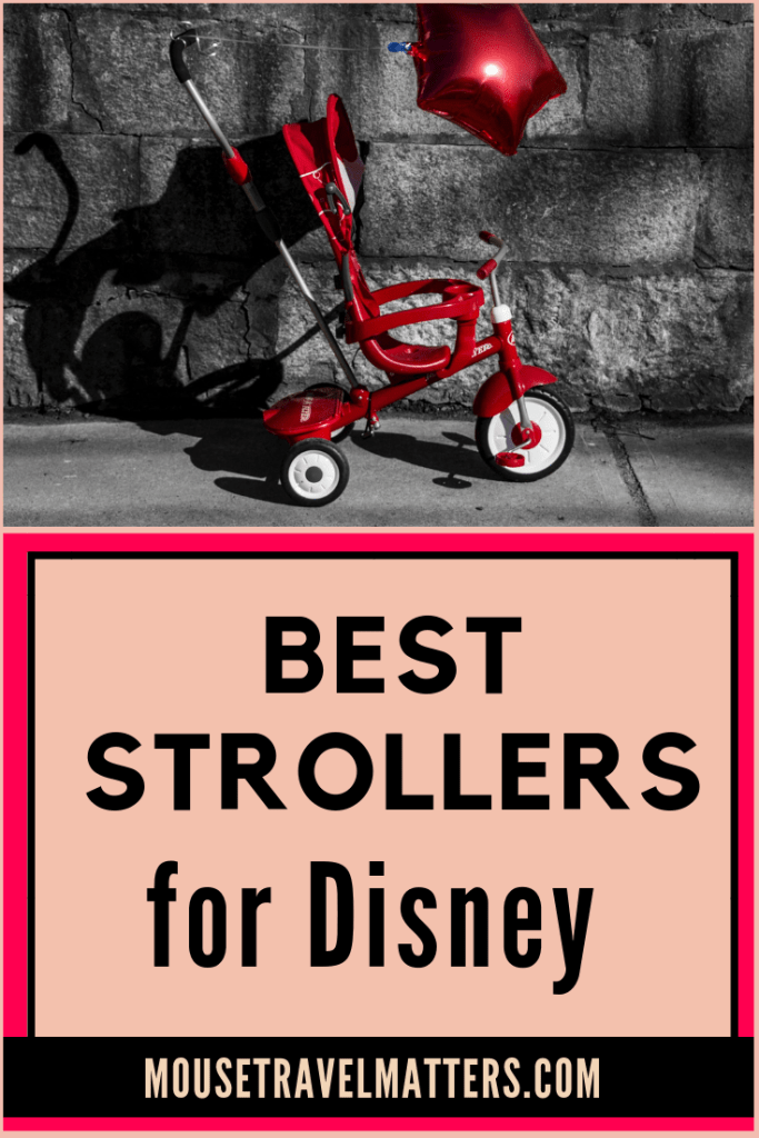 Are you looking to buy, rent, or borrow a stroller for your Disney park trip? The best stroller for Disney World has very specific criteria. Click to see our recommended best strollers for Disney & theme parks.