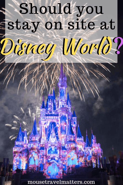 Are you planning a trip to Disney World? Let's explore why you might want to stay in a Disney world hotel or resort. #disney #waltdisneyworld