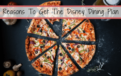 5 Reasons To Get The Disney Dining Plan