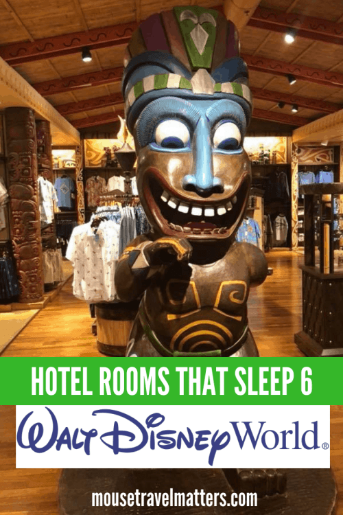 Kid-friendly Walt Disney World hotels, with large rooms or suites to accommodate a family of 5, 6, 7, or 8. Resorts, apartment hotels, budget options included, with cribs and kitchens. #Disney #Disneyworld #Florida #travelwithkids #familyvacation #familytravel