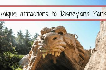 Unique attractions to DisneyLand Paris