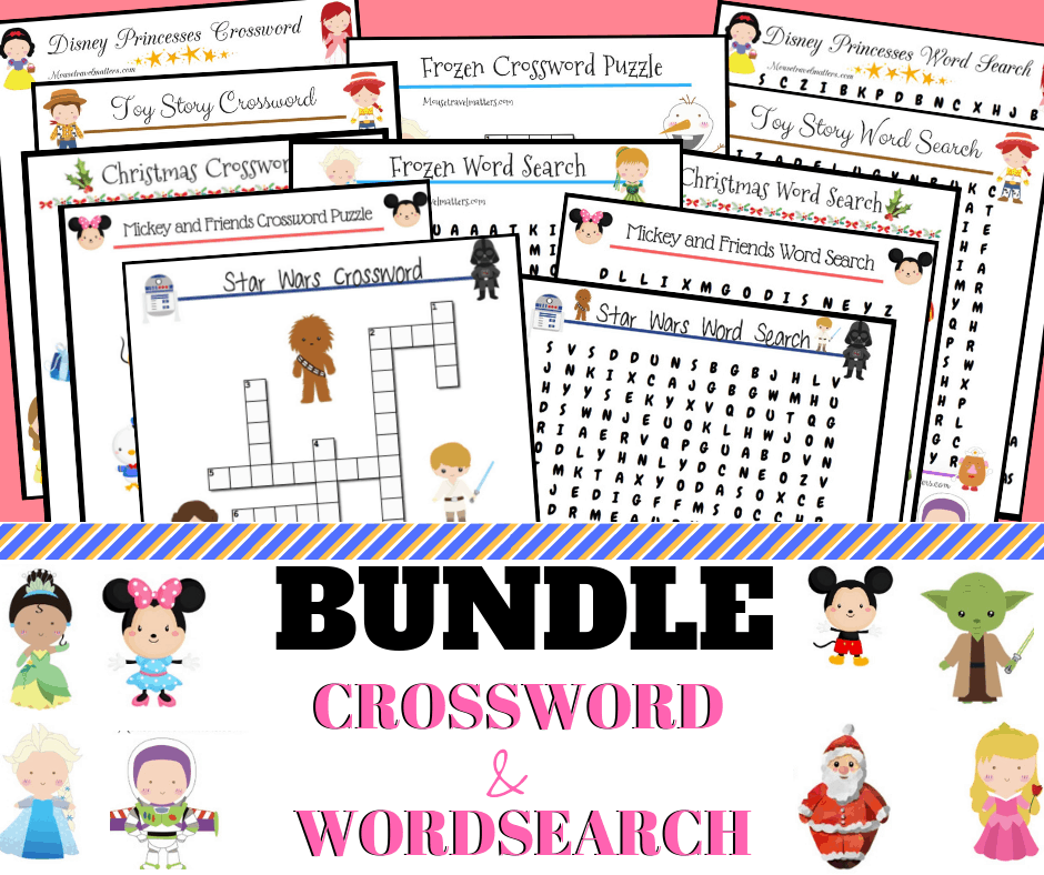 photo about Disney Word Search Printable titled Disney Crossword and Phrase glimpse Printable Mouse Generate Things