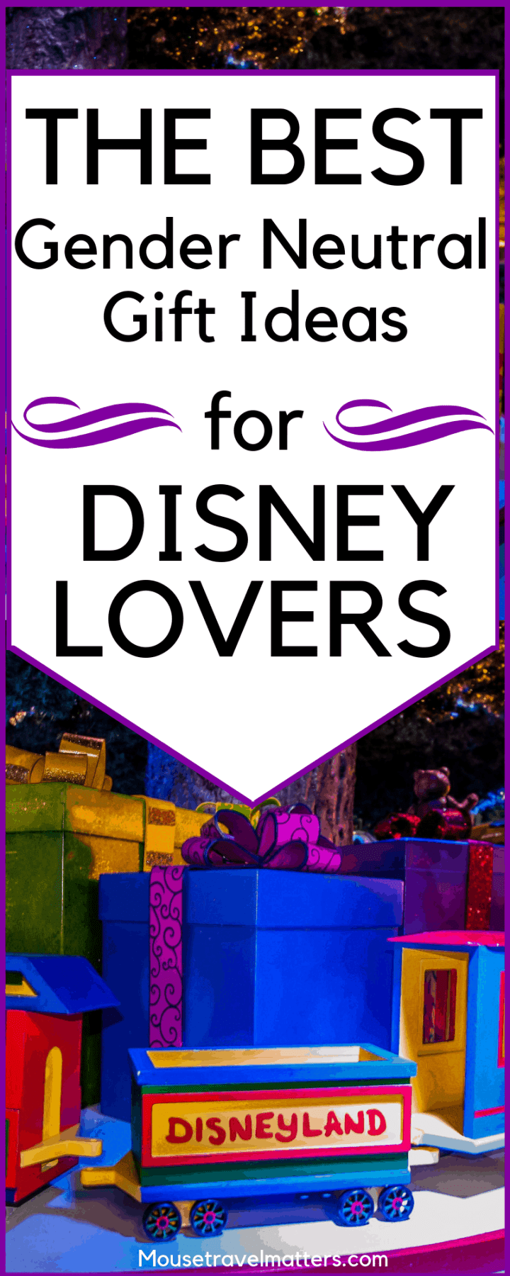Looking for gift ideas for toddler boys and girls? Here's a Gender-neutral Disney gift guide and full of great learning toys and activities!