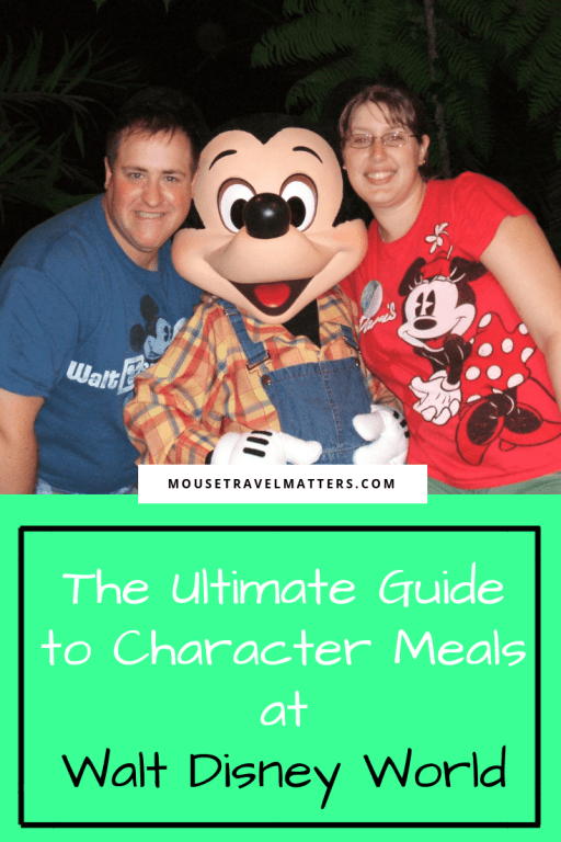 The Ultimate Guide to Character Meals at Walt Disney World