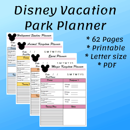 image about Vacation Planner Printable identified as Final Walt Disney Earth Family vacation Planner Mouse Drive Points