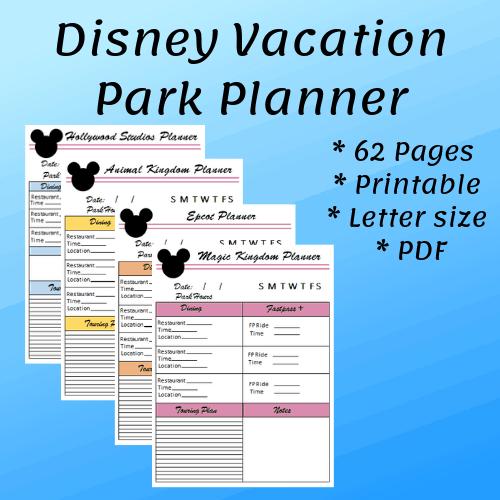 image regarding Disney World Printable Tickets named Best Walt Disney Earth Trip Planner Mouse Drive Things