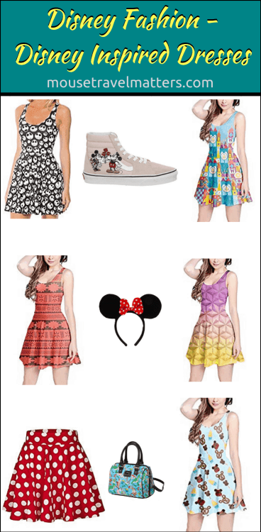 Dresses, comfortable sandals, and hats to the Disney theme parks. This is because the parks are typically hot and involve a lot of activity in the sun.