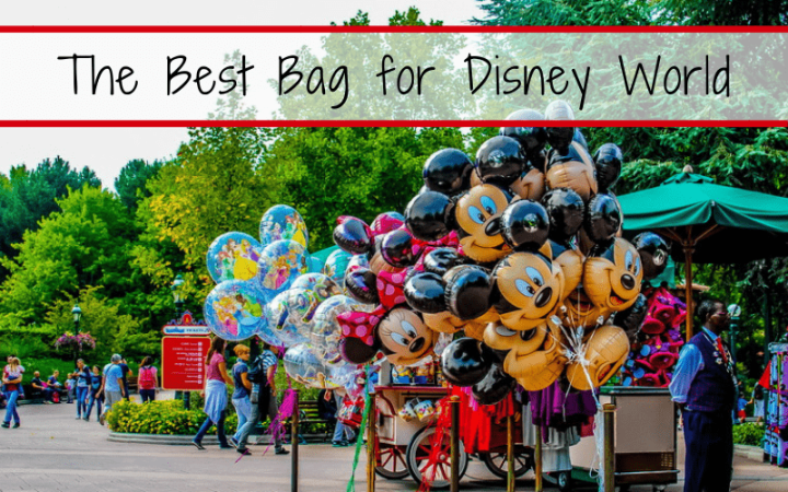 Walt Disney World tips, tricks, secrets, & hacks -- Looking for the perfect bag to hold all your stuff for your day at a Disney park? Check out our top picks for different styles of Bags to wear at Disney, and a quick list of what to pack in it.  #DisneyParks #DisneyWorld #DisneyVacation #DisneyVacationPlanningTips
