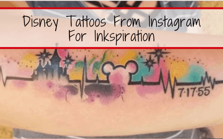 10 Disney Tattoos From Instagram For Inkspiration