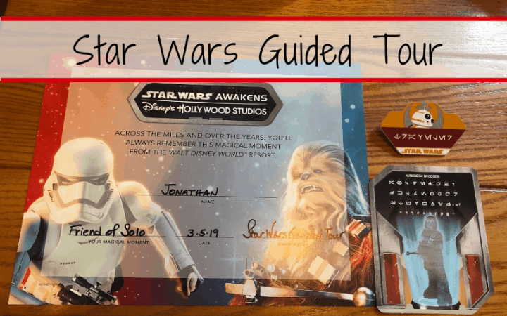 Star Wars Guided Tour