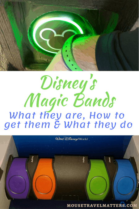 Disney's Magic Bands: What they are, How to get & How to Use - a Beginner's Guide #disneytravel #disneyvacationplanning #familytravel