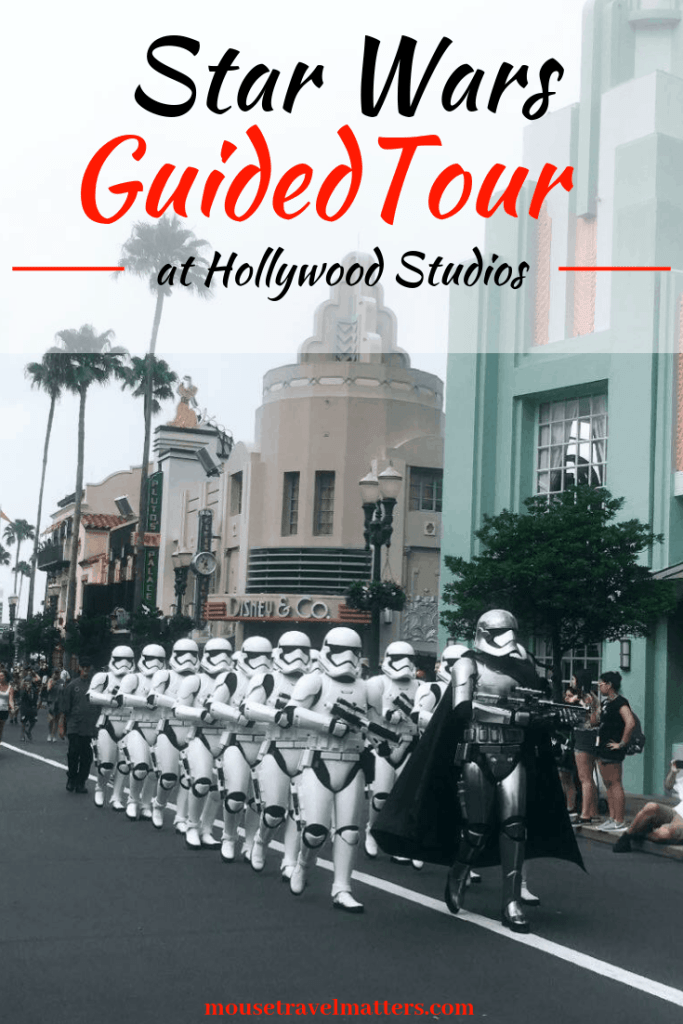 Star Wars Guided Tour At Disney's Hollywood Studios Tons of Info. about Disney's Star Wars Guided Tours  #disney #disneystarwars #disneyworldtours