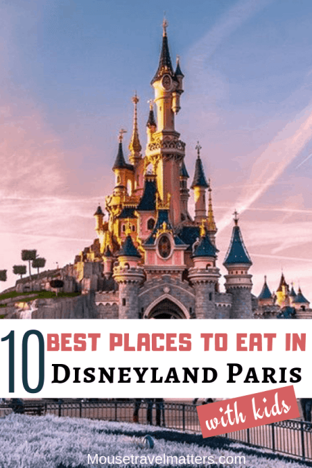 Which are the best places to eat in Disneyland Paris? With so many restaurants how do you choose which one to dine in. In this post you'll find recommendations for the best restaurants in Disneyland Paris to ensure you have great meals while in the parks. #disneylandparis #dlp #disneyparis#eurodisney #disneyfood