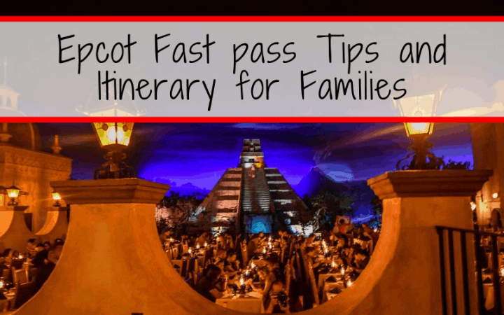 Epcot itinerary with kids. Tips to plan your day at the Walt Disney World park in Orlando, Florida. #Epcot #disneyvacation #disneyworld #DisneyTips
