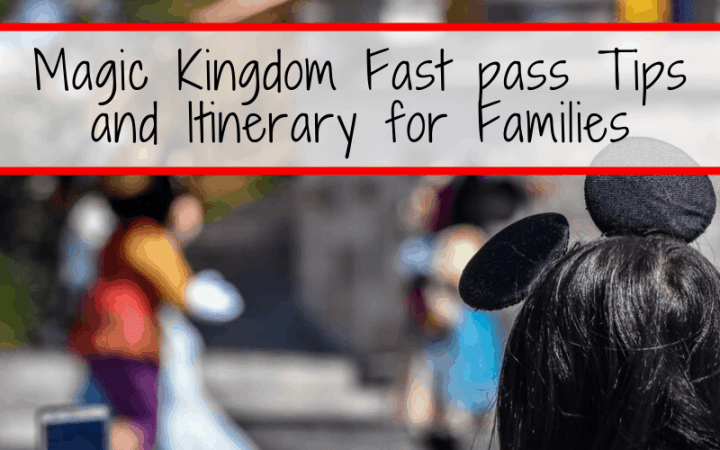 Skip long lines at Disney World with our best Magic Kingdom FastPass advice and tips. These FastPass strategies for families with school age kids will help you get the most out of your time at the Magic Kingdom and take the stress out of your Magic Kingdom itinerary planning! #disneyworld #magickingdom #disneyplanning #fastpasstips