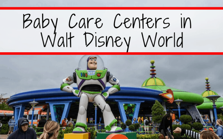 Baby Care Centers in Walt Disney World