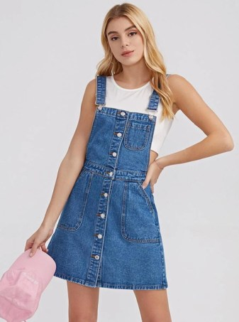Tendencias Vestidos Jeans Denim