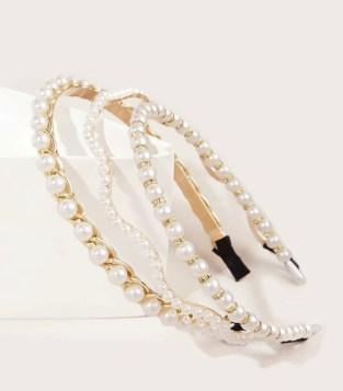 diademas de moda con piedras diademas de moda con perlas accesorios para el pelo 2021 accesorios para el cabello 2021
