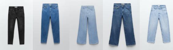 ▷ 5 Jeans de Zara mas populares y vendidos | HN