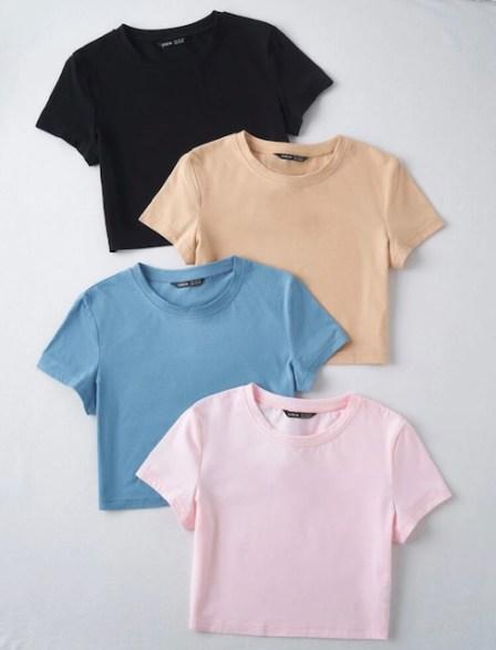 Camisetas frescas usar Jeans