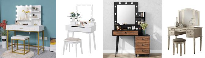▷ Mejores tocadores maquillaje Amazon | Económicos HN
