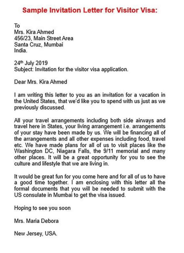 Invitation Letter For Doc Pdf Word