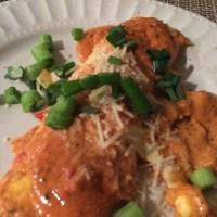 Adolfo's Crab and Corn Cannelloni