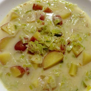 Curry Potato Leek Soup