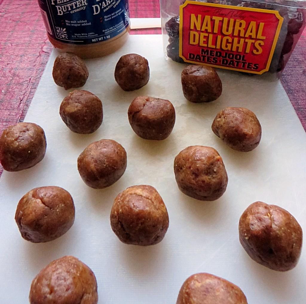 Peanut Butter Larabar Bites - recipe at mouthhalffull.com