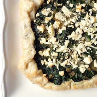 Spinach and Feta Galette