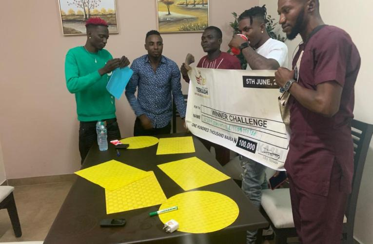 "Teekash Empire Entertainment gifts winner 100k for ""1min video"" talent show"