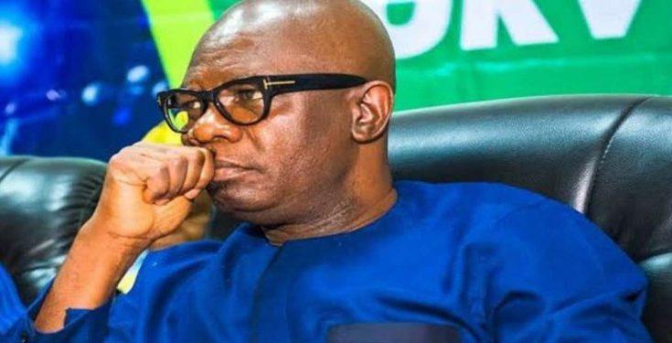BREAKING: Ondo Lawmakers Serve Deputy Governor Impeachment Notice