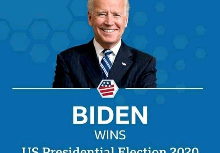 BREAKING: I'm honoured you chose me, Biden thanks Americans