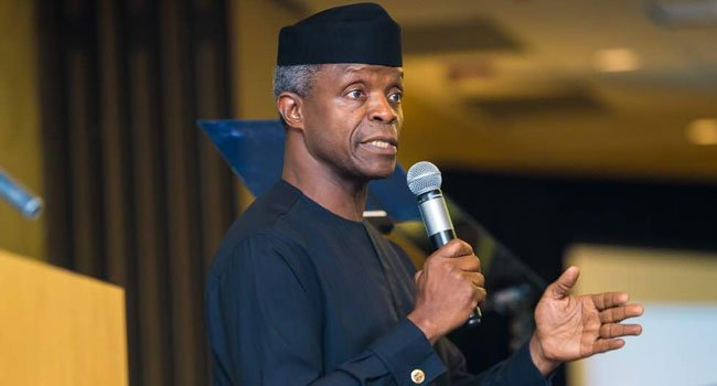 Osinbajo aims at giving youth more opportunities with Huawei partnership