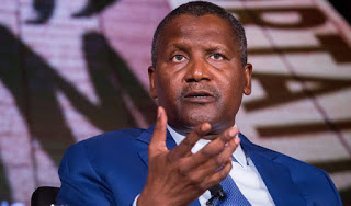 Dangote drops 8 places in latest world ranking, as he loses $900m in 24 hours