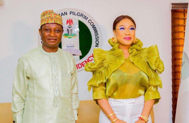 Tonto Dikeh bags appointment as Nigeria Christian Pilgrim's ambassador