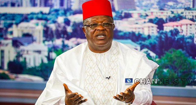 Insecurity is a result of the failure of past leaders— Umahi