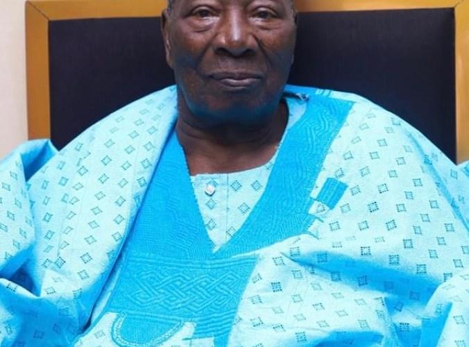 John Oke LEGACY felicitates Soun of Ogbomosoland at 95
